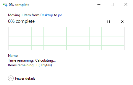 Moving, deleting, creating files / directories takes forever