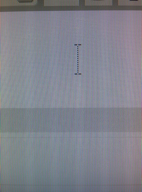 Mouse cursor has randomly enlarged and has lines going through it-img_20150715_150810.jpg