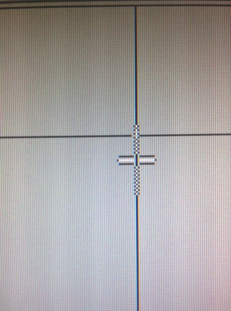 Mouse cursor has randomly enlarged and has lines going through it-img_20150715_150830.jpg