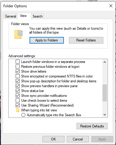 Has the status bar definitely disappeared from File Explorer in 1903?-image.png