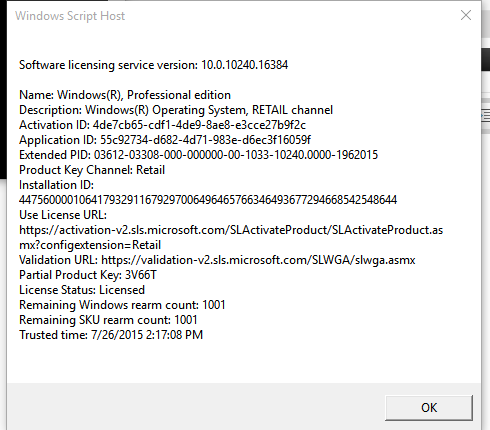 Click image for larger version.  Name:Version of Windows Running.PNG Views:902 Size:22.0 KB ID:26009