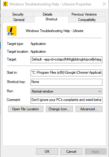 Taskbar Icon is incorrect - showing an icon for another applicaton-image.png