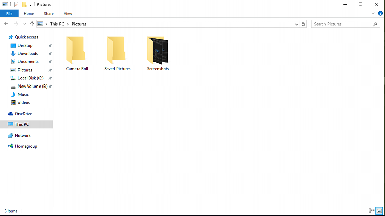 """No """"Screenshots"""" folder in the """"Pictures"""" folder.  How do I fix this?-capture.png"""