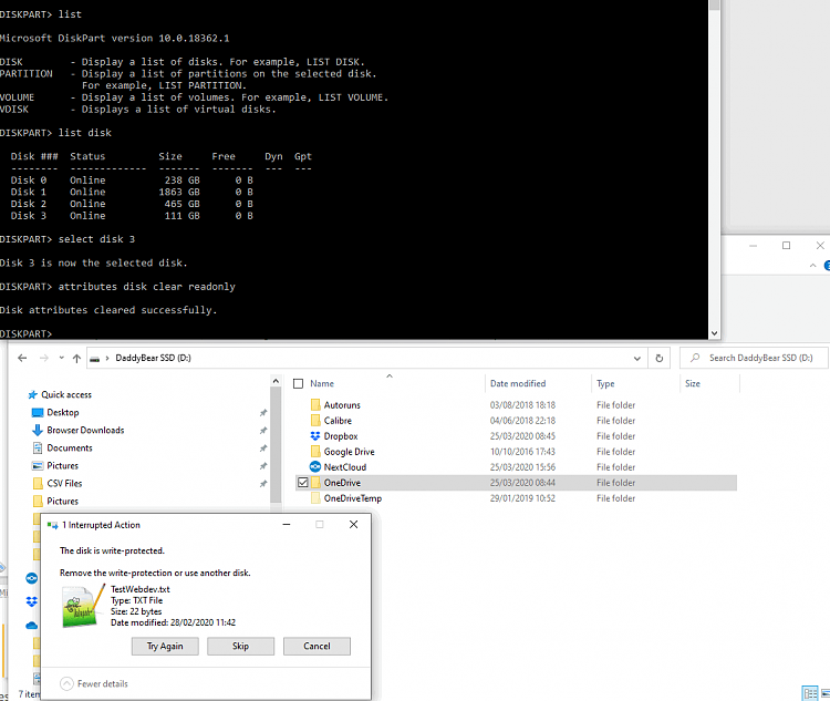 All HDD have gone to write protected other than C:/ ????-see-issue-pc15.png