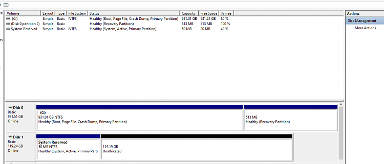 Fresh W10 install, system reserved partition on unused 2nd disk-capture.png