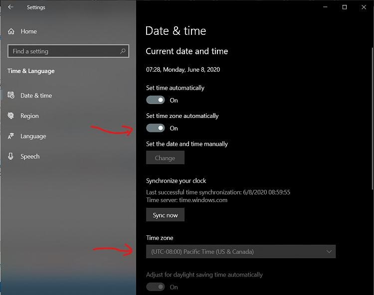 Windows is detecting the wrong time zone. What's wrong?-s2.jpg