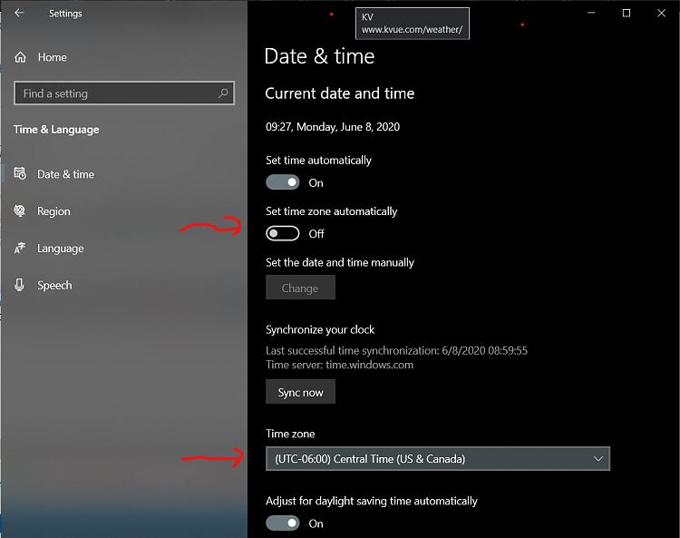 Windows is detecting the wrong time zone. What's wrong?-s1.jpg