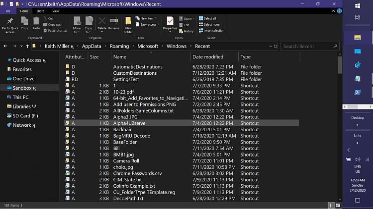 File Explorer - Quick Access Does Not Show Recent Files-screenshot-796-.png