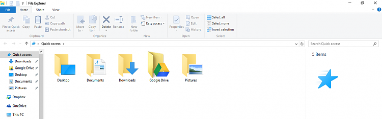 [Question] Why my windows 10 quick access not grouped?-screenshot_4.png
