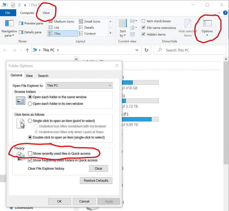 How Do I Add Recent FILES (not items or folders) to Left Content Panel-screenshot-2020-09-17.png