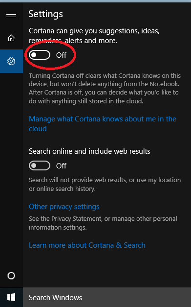Click image for larger version.  Name:disablecortana.png Views:388 Size:24.5 KB ID:29852