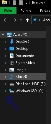 Disable auto hide arrows next the folder or drive in File Explorer?-file-manager-arrows.png