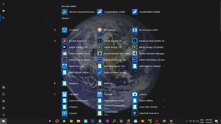 How to take fullscreen start menu start on all apps screen?-start.png