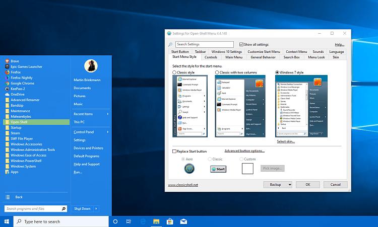 How to take fullscreen start menu start on all apps screen?-open-shell-1-.png