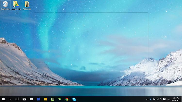 Ghost Frame On Desktop Help Windows