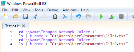Powershell command file to automatically list file/folder names-capture.png