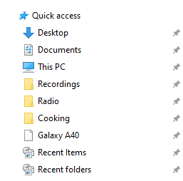 issue with deleting duplicate Desktop folder-quick-access-example.png