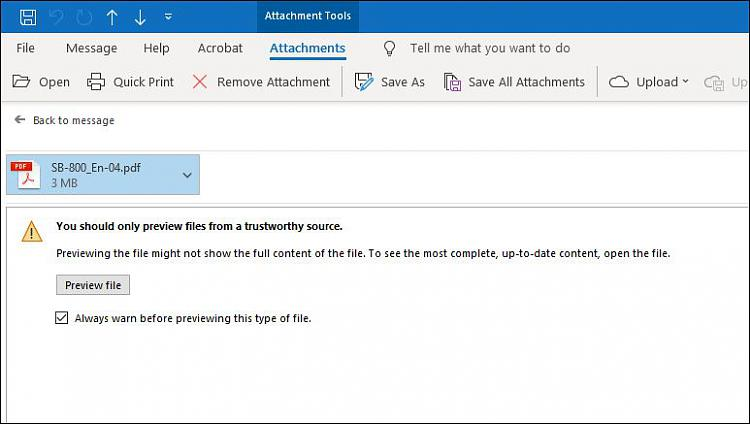 How can I get .PDF files to preview in Windows Explorer & Outlook?-outlook-preview-warning.jpg