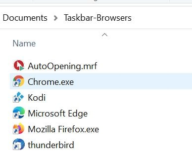 Need taskbar icons arranged as follows...-taskbar-files.jpg