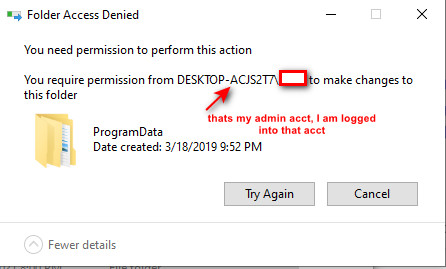 can't delete windows.old after changing myself to the owner-trusted-installer4.jpg