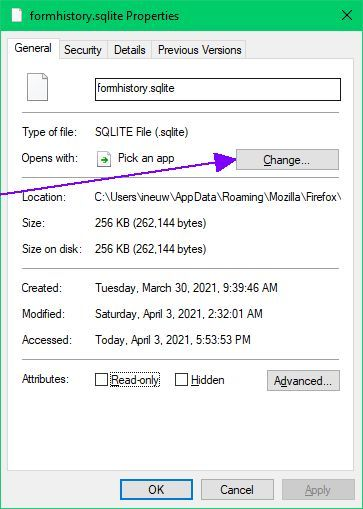 Some W10 20H2 changes by MS and their drawbacks-sqlite-file-properties-page.jpg