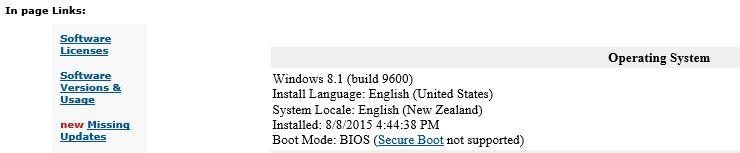 Click image for larger version.  Name:Belarc Advisor, August 2015.JPG Views:19 Size:23.3 KB ID:32656