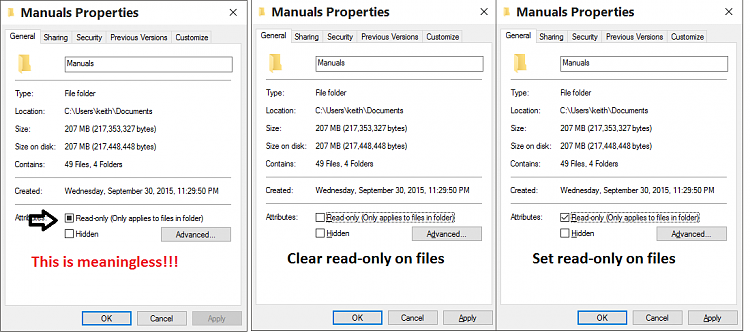 issue with deleting duplicate Desktop folder-read-only.png