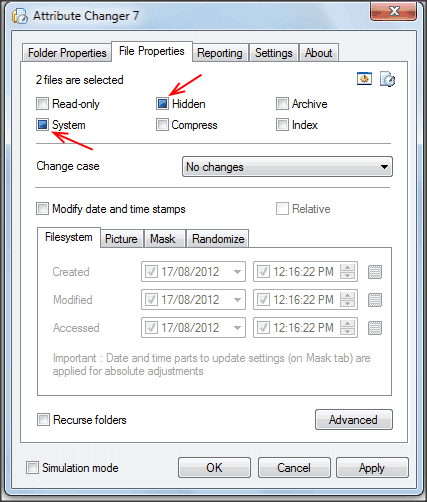 "How to assign ""system"" flag to a folder? Hide folder in File Explorer?-1.png"
