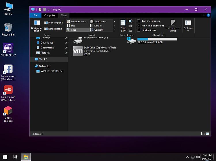 Windows 10 Lite - Ghost Spectre-file-explorer.png