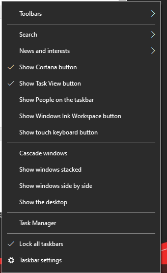 How to remove Microsoft news button?-image.png