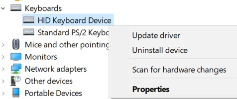 backspace key behavior changed-uninstall-hid-keyboard.jpg