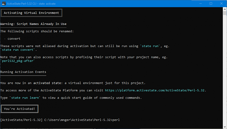 How to run a perl script in Win 10-activestate-window.png