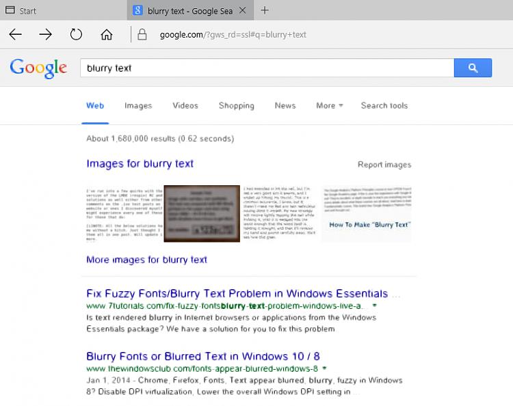 Chrome Font Blurry
