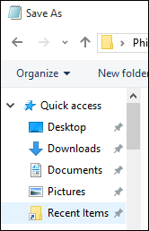 File Explorer Quick Access has Recent Folders pinned but it vanishes..-04_working_in_saveas.png