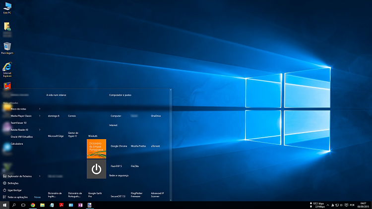 Icons missing Windows 10 Start Menu.png