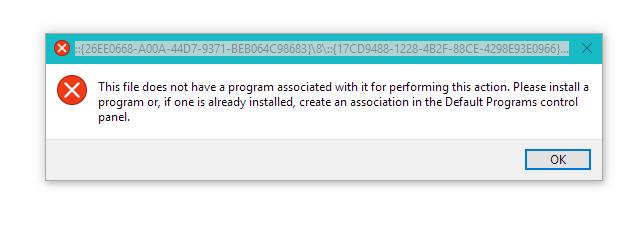 Default Applications Control Panel - Error.png