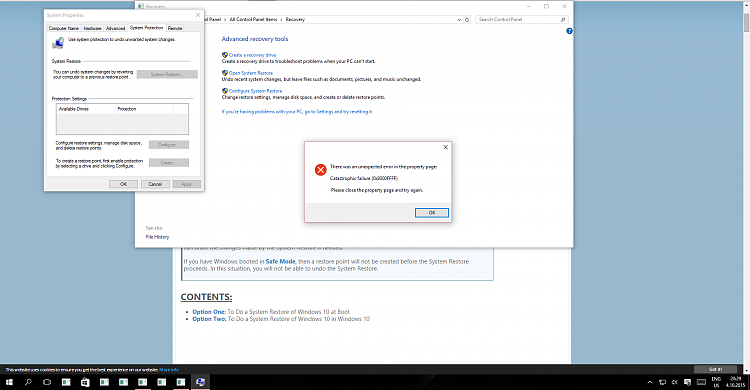 Click image for larger version.  Name:System Restore Problem Screenshot.PNG Views:4 Size:108.4 KB ID:41076