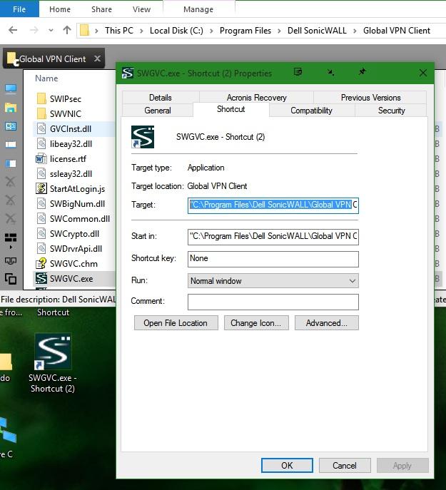 """Create Shortcut""s target path points to wrong Program Files folder.-wrong-target-path-all-shortcuts.jpg"