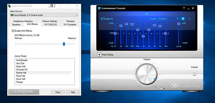Click image for larger version.  Name:Creative Audio Console Launcher VS Audio Control Panel.jpg Views:4 Size:84.7 KB ID:44528