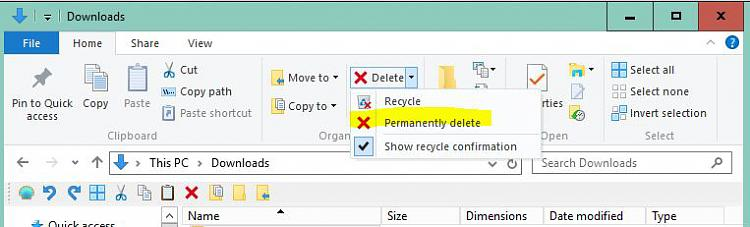 Disable Permanently Delete Files confirmation - Page 2