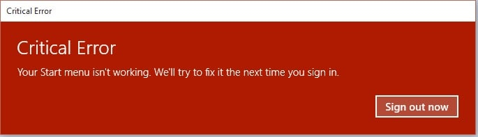 Click image for larger version.  Name:Critical error- Windows 10.jpg Views:3 Size:24.6 KB ID:46623