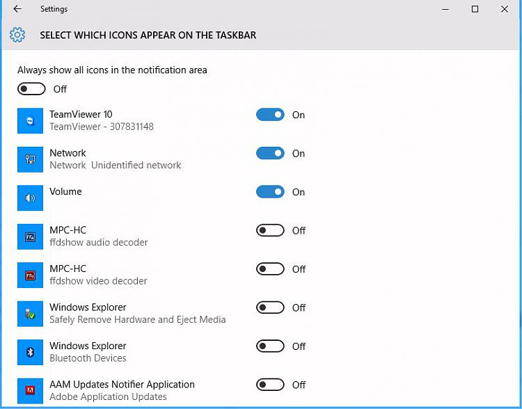 Click image for larger version.  Name:Select which icons appear on the taskbar.jpg Views:2 Size:57.3 KB ID:46716