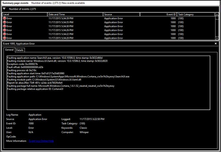 Click image for larger version.  Name:Error log.PNG Views:3 Size:207.2 KB ID:48894