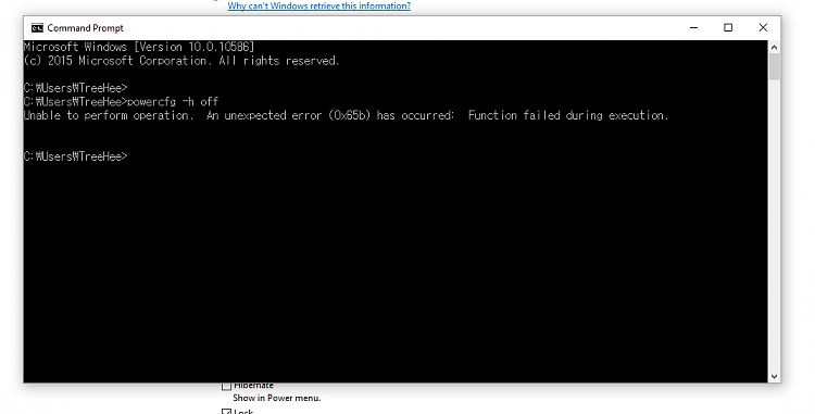 Click image for larger version.  Name:Command prompt errer.PNG Views:8 Size:18.7 KB ID:50099