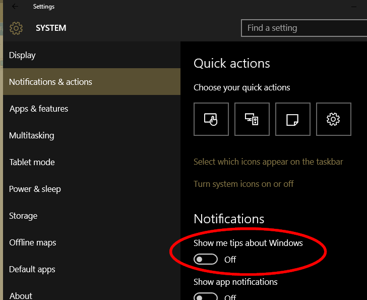 Windows 10 how to disable snap popup when you move a window