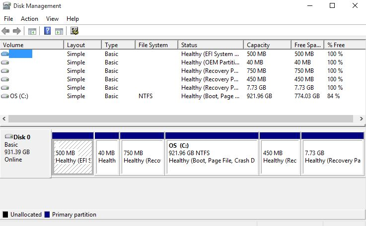 Click image for larger version.  Name:disk partition.JPG Views:25 Size:65.7 KB ID:50260