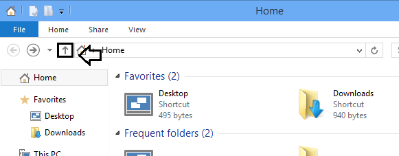 'Up' button in Windows Explorer-capture.png