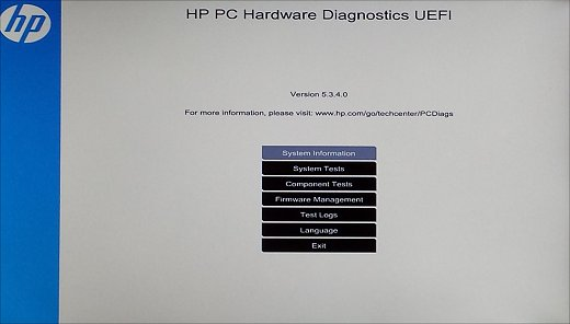 Click image for larger version.  Name:HP diagnostic test.jpg Views:13 Size:19.4 KB ID:61773