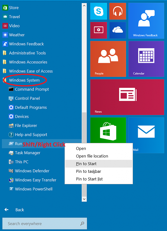 windows 10 how to add load on start