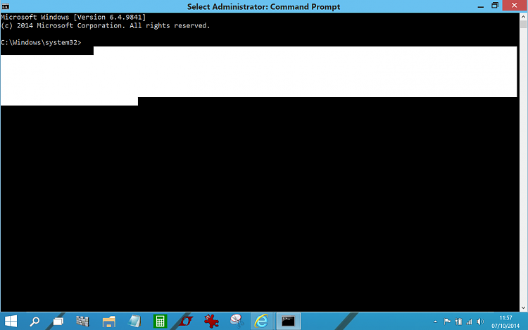 cmd.exe opens full screen. Just one little problem.......-cmd.png